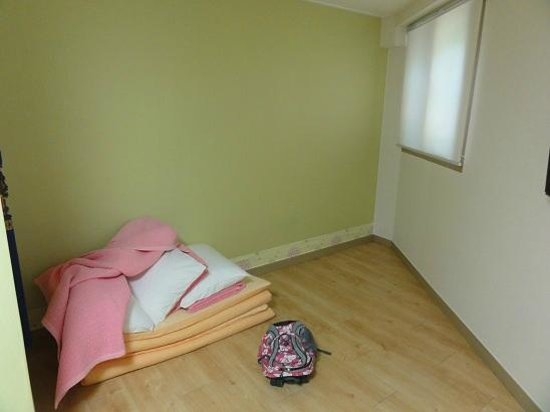Zaza Backpackers Hostel: Ondol style bed