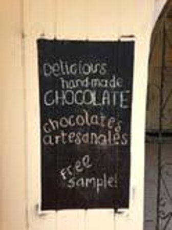 Chocolateria Isla Bella : Sign