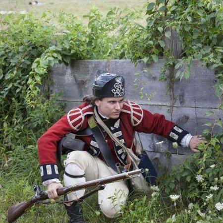 Old Sturbridge Village: Redcoats attack