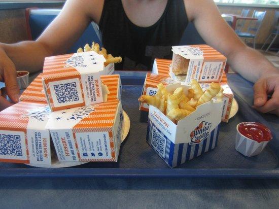 White Castle: food.