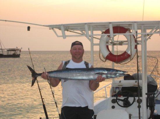 Zanzibar Watersports: My first Wahoo