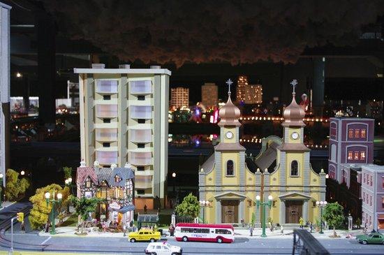 Merchants Square Model Train Exhibit