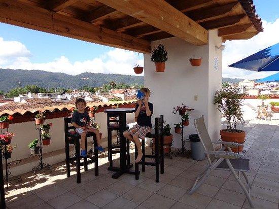 Terraza Hotel lMansion del Valle