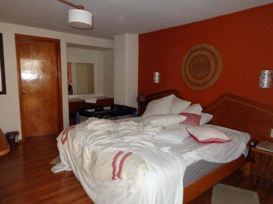Habitacion Cama King Size Hotel Mansion del Valle