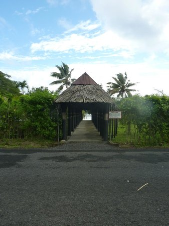 Stevenson's at Manase: The view from across the road towards the sea