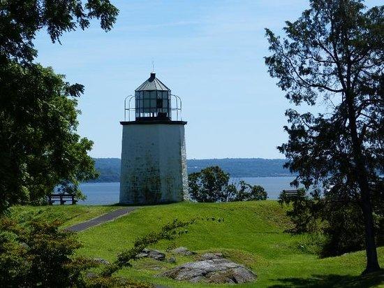 The Stony Point Battlefield Lighthouse照片