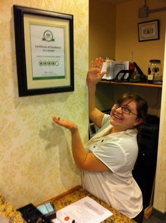 Country Inn & Suites by Radisson, Manteno, IL: It's the staff who really make this property worthwhile!