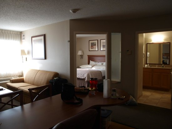Candlewood Suites Fort Wayne : Our room