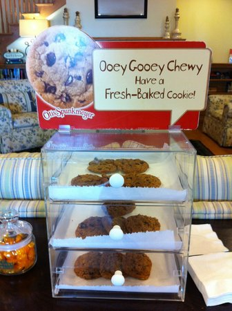 Country Inn & Suites By Carlson, Manteno: Lobby cookies