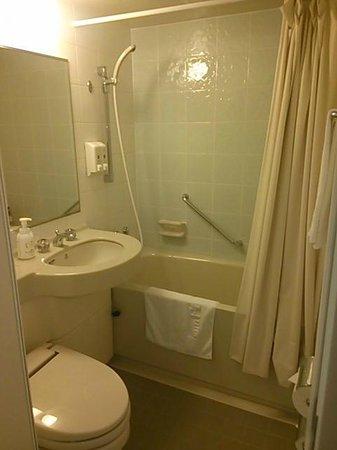 Hotel Paco Kushiro: bathroom