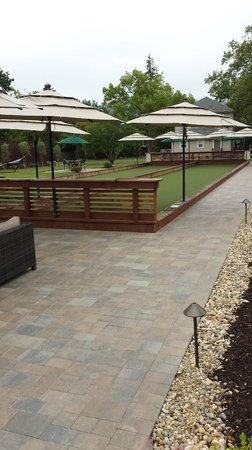 Golden Haven Hot Springs Spa: Bocce Ball Court