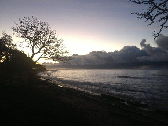 Kauai Coast Resort at the Beachboy: Sunrise from the property