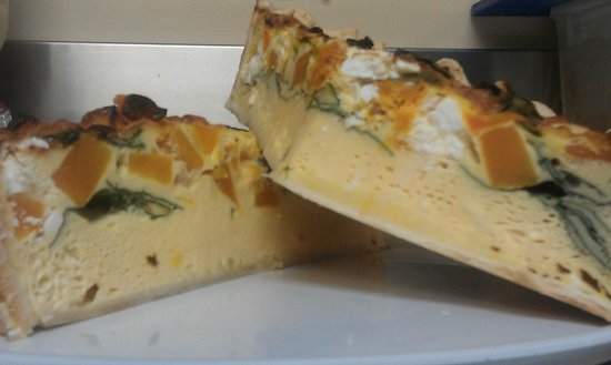 Cafe 109: Vegetable Quiche
