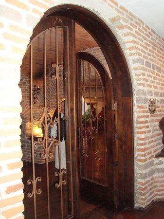 Hacienda Real front door