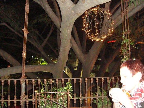 Hacienda Real balcony