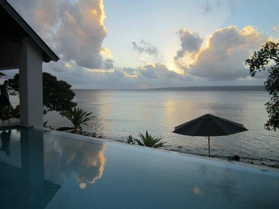 Villa 25 : another stunning sunset