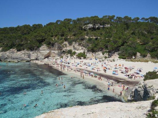 Hotel Tres Sants: Cala Mitjana beach