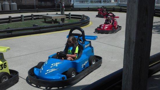 Corolla Raceway: Joce on the track!