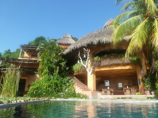 Casa Cuitlateca - view from the pool