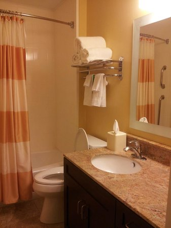 TownePlace Suites Jacksonville Butler Boulevard: Bathroom