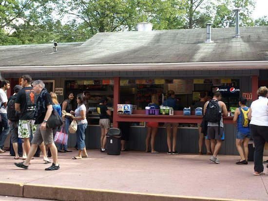 Whitewater Challengers: Snack Bar