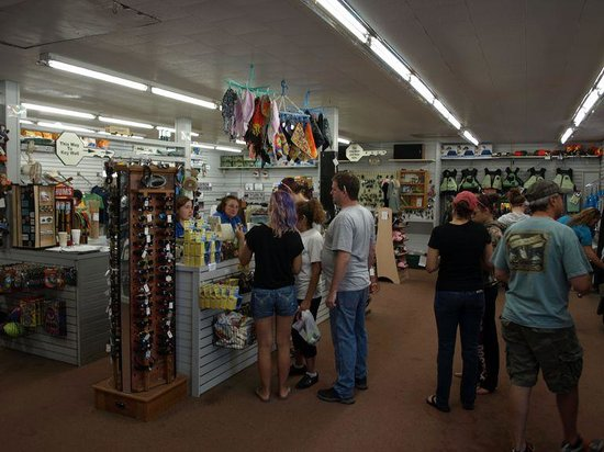 Whitewater Challengers: Store