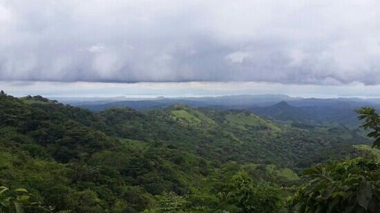 Monteverde Theme Park : vista al mar