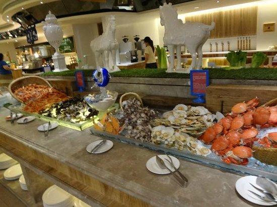 Chateau de Chine Hotel Hualien: seafood