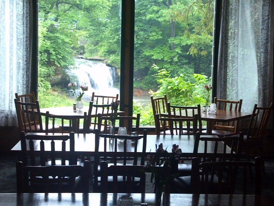 Pickwick Inn: Picture from our table in the dining rm.