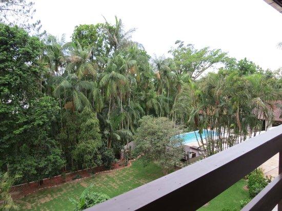 Timbo Park Hotel: Vista da sacada do quarto