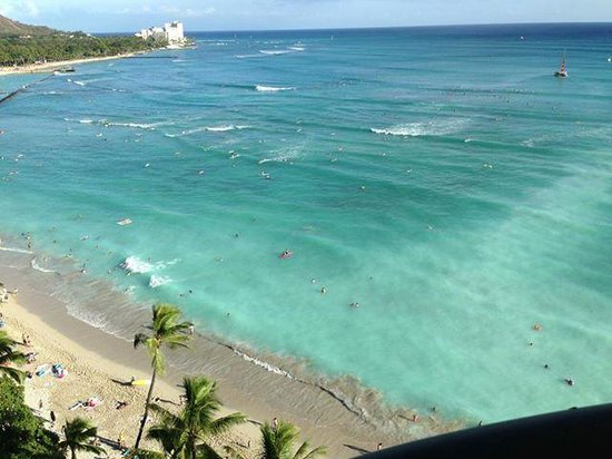 Moana Surfrider, A Westin Resort & Spa: A room with a view
