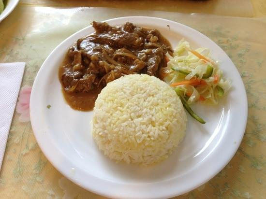 Beef Stroganoff With Buttered Rice Picture Of Borshch Steakhouse Singapore Tripadvisor