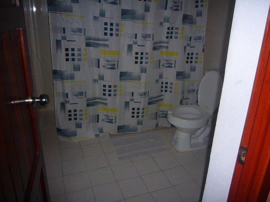 Hotel Hacienda Bacalar : muy amplio el baño