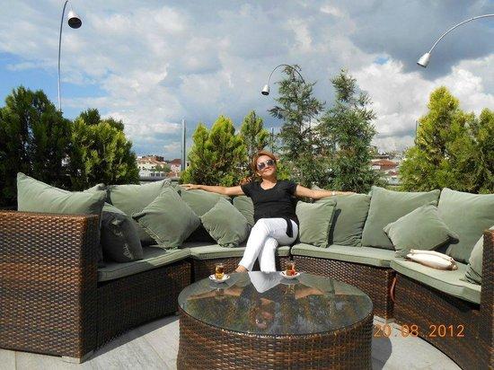Merial Hotel: крыша отеля