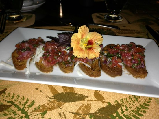 Finca Rosa Blanca Coffee Plantation Resort: Delicious appetizer