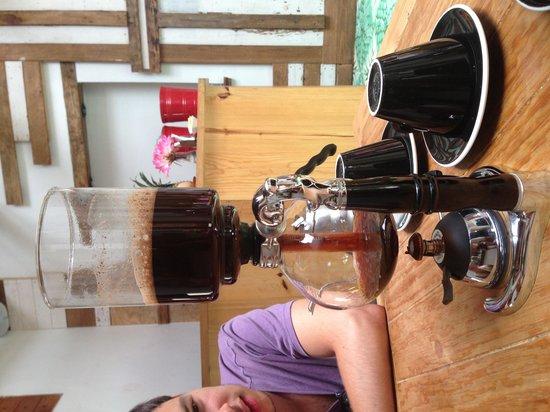Carajillo Café: Experimental coffee!