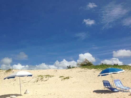 Yonaha Maehama Beach: 前浜ビーチの砂浜♡