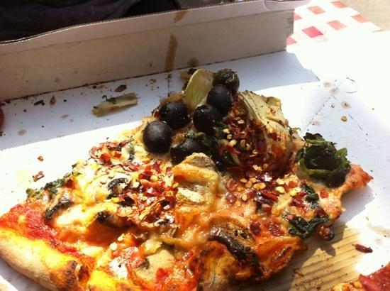 Forno a Legna: vegetarian pizza