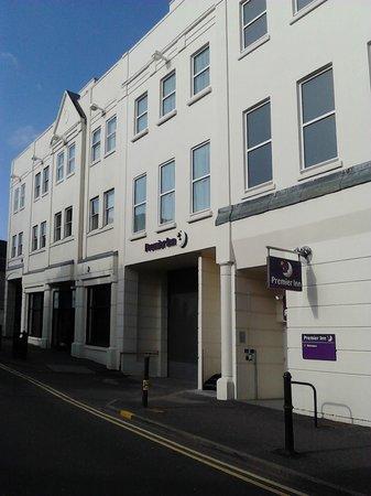 Premier Inn Leamington Spa Town Centre Hotel: 外観