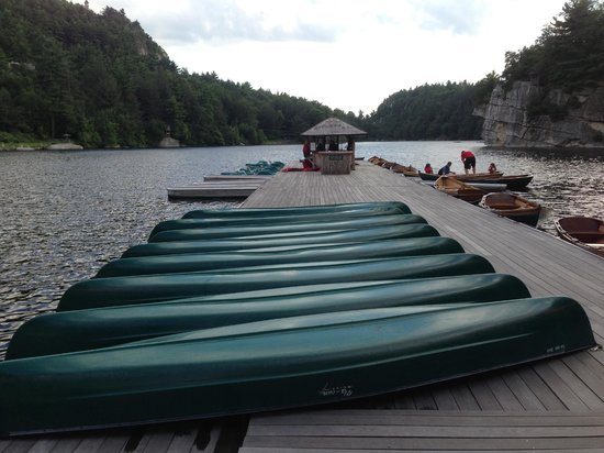 Mohonk Mountain House: Boating
