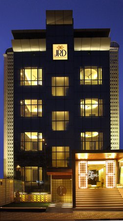 The JRD Luxury Boutique Hotel: Hotel Exterior