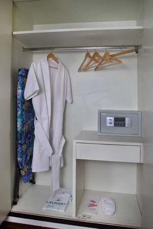 The JRD Luxury Boutique Hotel : Wardrobe and Electronic Safe