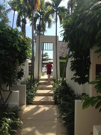 SALA Samui Resort And Spa: Sala architecture and gardens