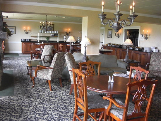 AmishView Inn & Suites: The dining area.
