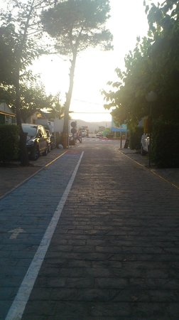 Camping Torre La Sal 2 : Una de las calles