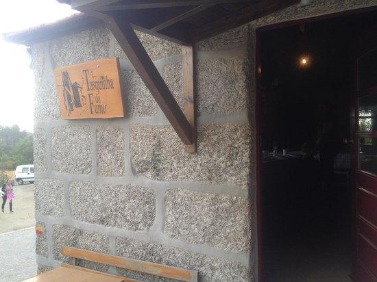 Baião, Portugal: sala da lareira
