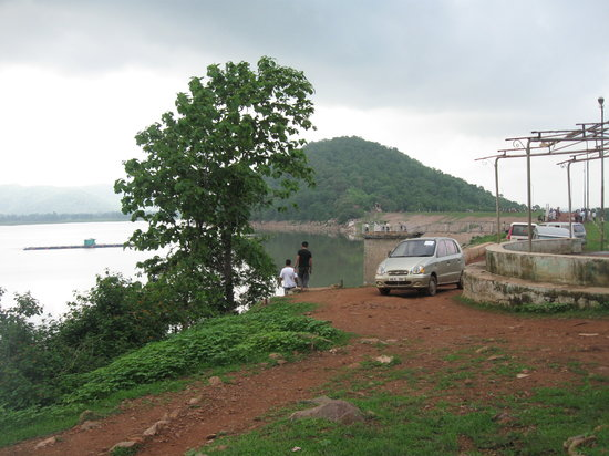 Kawardha, India: saroda reservoir