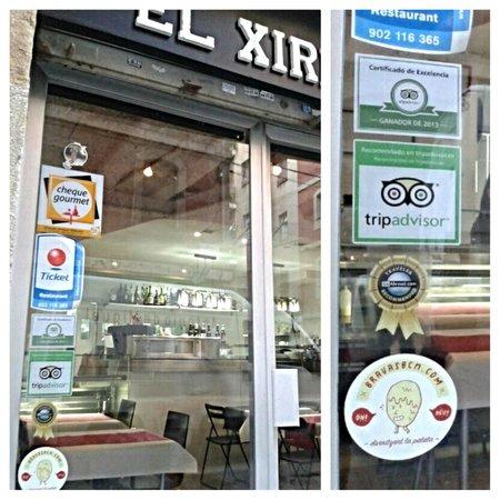 El Xiringo: Puerta de entrada y distintivos de calidad
