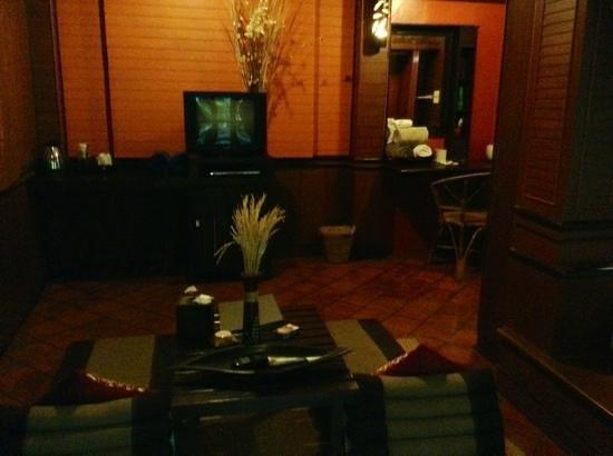 Baan Laanta Resort & Spa: Salottino