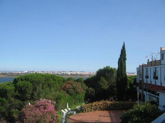 Hotel Santa Maria: vista desde la terraza de la habitación